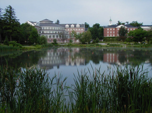 On a recent trip to Bates College